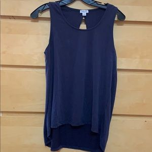 Splendid navy blue tank top small